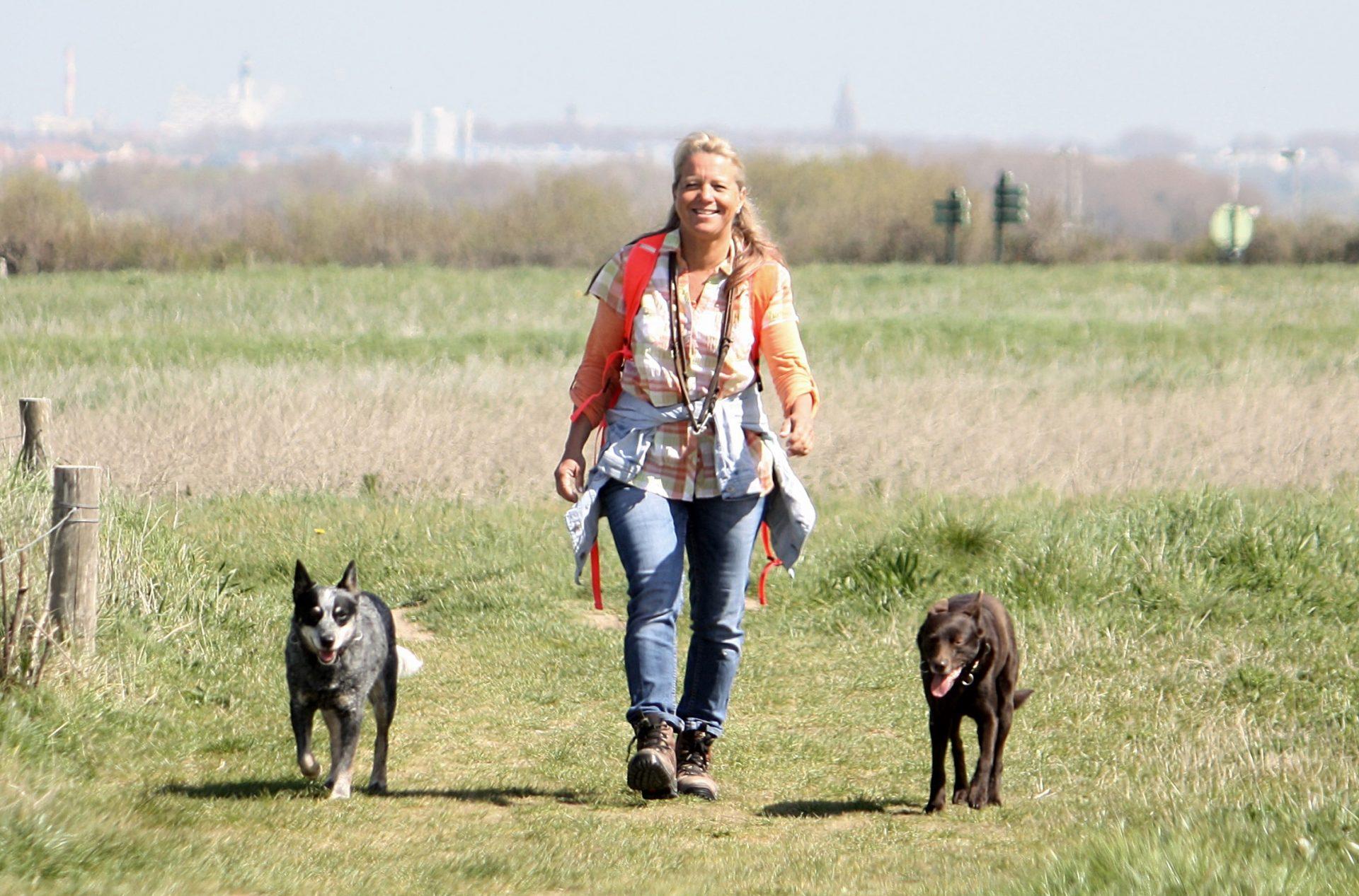 Mensch und Hund – Schulze